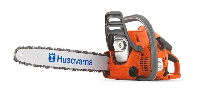 Бензопила Husqvarna 236 - шведская модель умеренного ценового диапазона