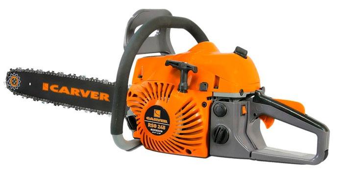 Бензопила Carver RSG 245 - модель для пользователей с повышенными запросами