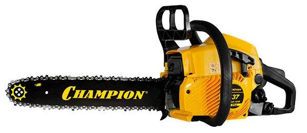 Бензопила Champion 137-16 - бюджетный вариант для домашнего пользования
