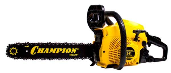 Бензопила Champion 241-16 - бюджетная модель с улучшенными характеристиками