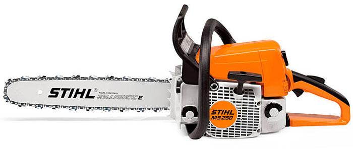 Бензопила Stihl MS 250 - одна из лучших моделей полупрофессионального уровня