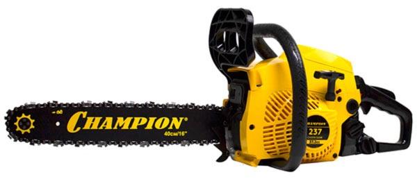 Бензопила Champion 237-16 - бюджетный вариант повышенного качественного уровня
