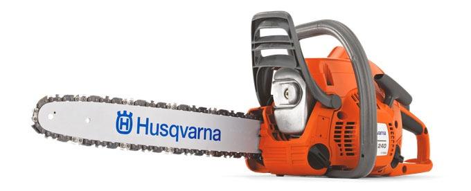 Бензопила Husqvarna 240 - бытовая модель популярного бренда