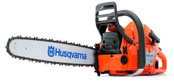 Бензопила Husqvarna 365 - рейтинговая модель профессионального уровня