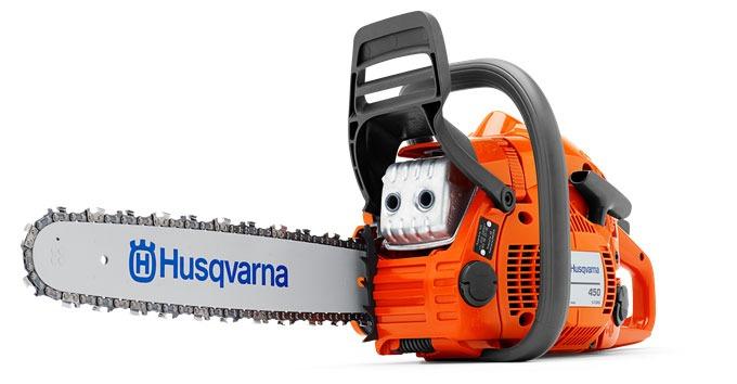 Бензопила Husqvarna 450E - полупрофессиональный инструмент для пользователей с повышенными запросами