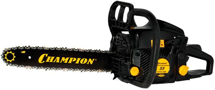 Бензопила Champion 55-18 - мощная модель бюджетного ценового уровня