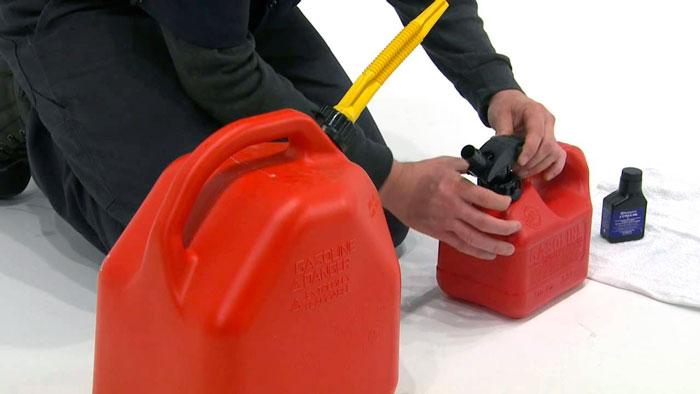 Рабочая смесь для бензопилы