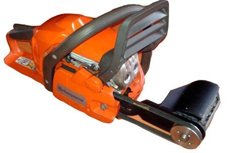 Насадка для бензопилы для работы с древесиной